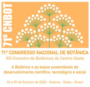 71 Congresso Nacional de Botânica Logo